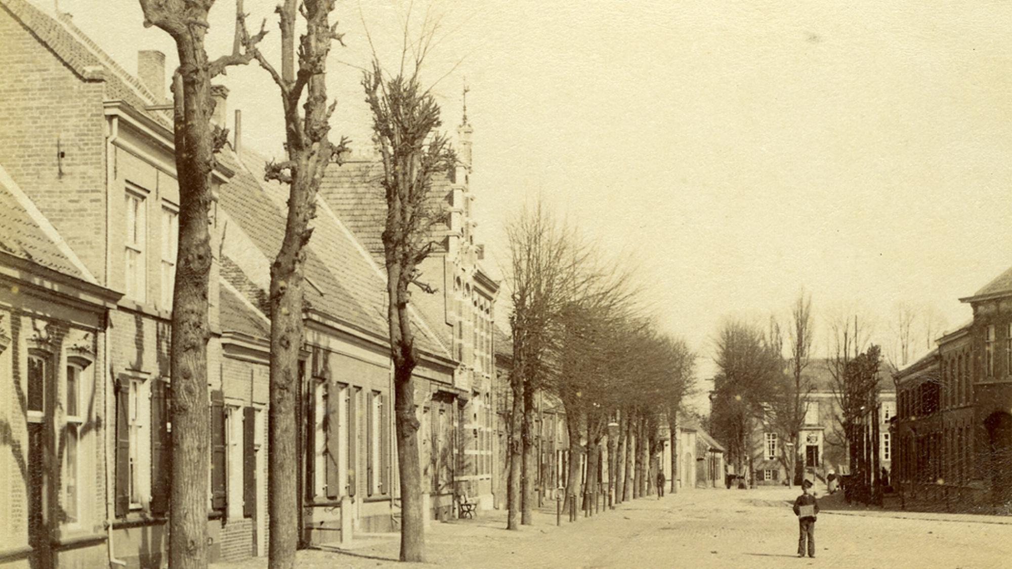 De heuvel in 1892