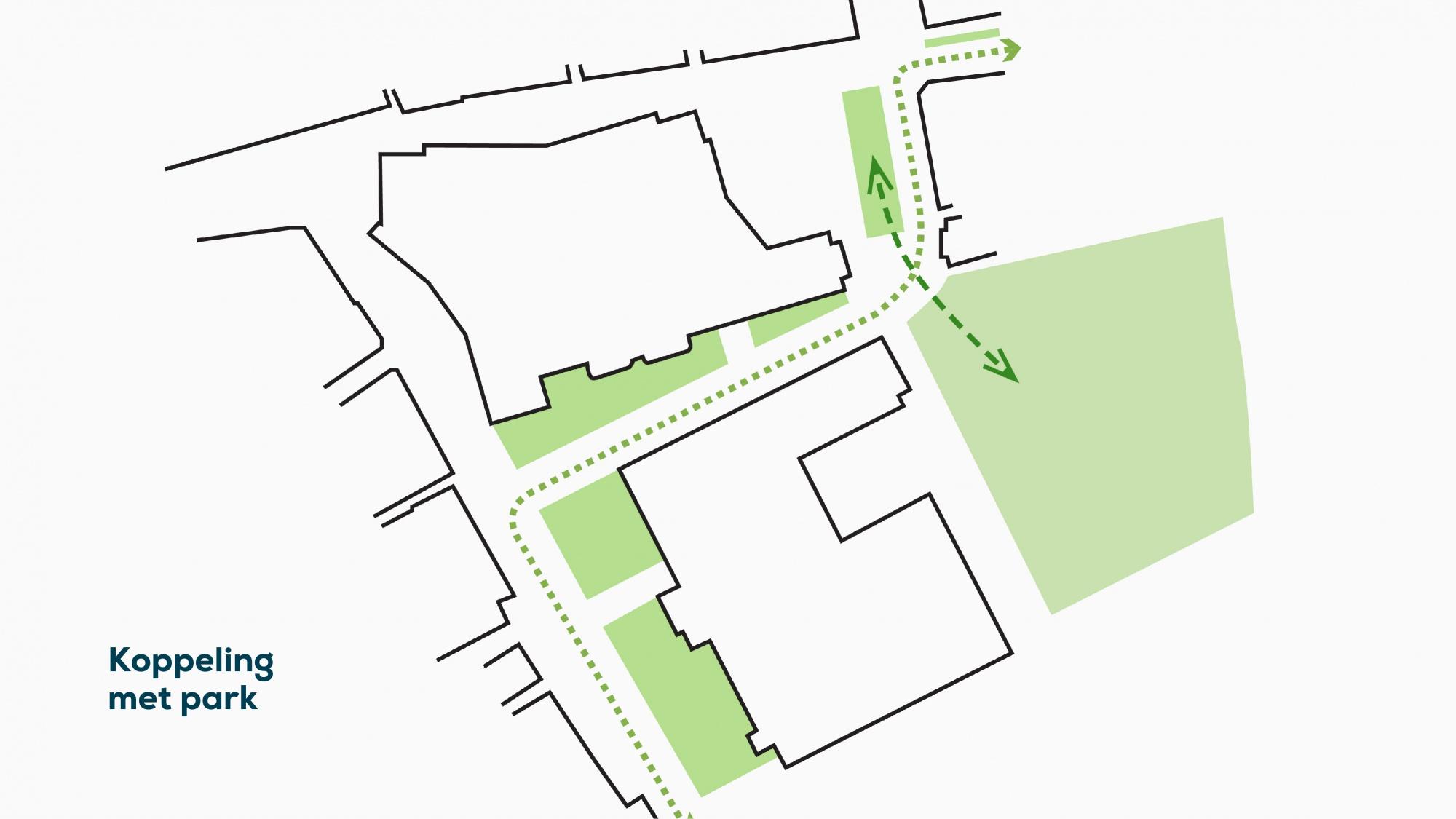 plattegrond 4 koppeling met park