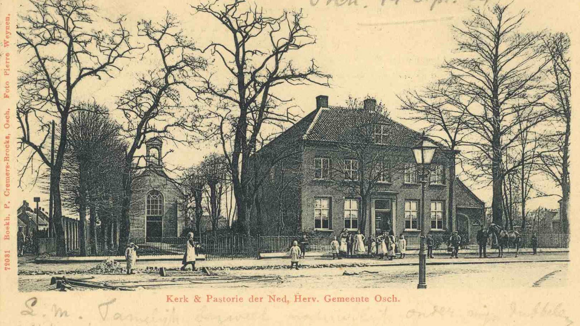 Protestantse kerk Walplein, 1904