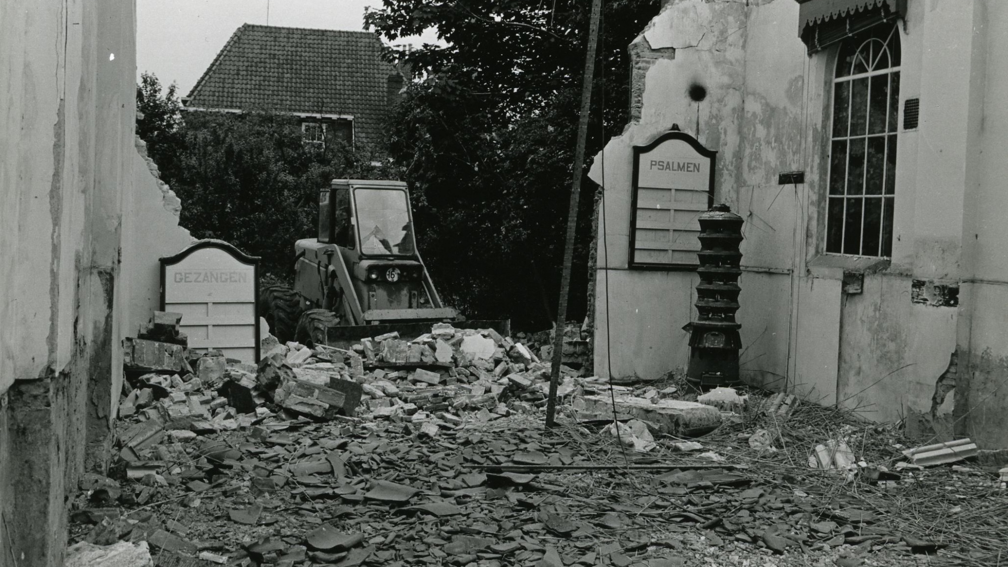 Sloop protestanten kerk, 1966