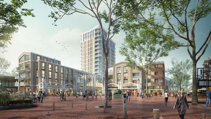 Overzichtsfoto nieuw aanzicht Walplein