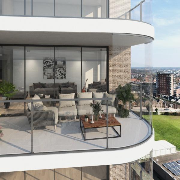 Balkon voorbeeld