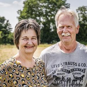 Hans en Annemarie van Nuland, de eerste eigenaren van een appartement in de woontoren
