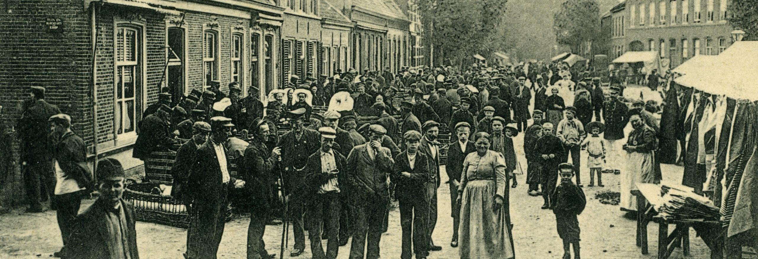 Biggenmarkt rond 1900