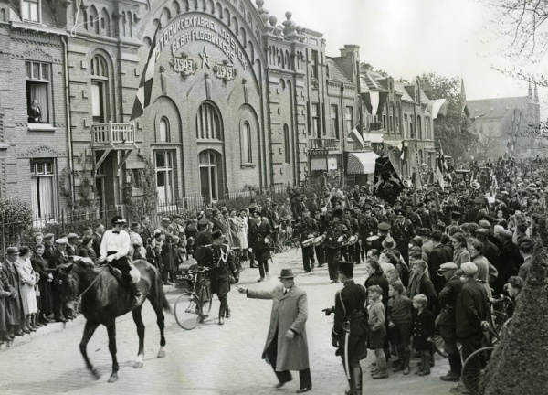 Koekfabriek in 1941